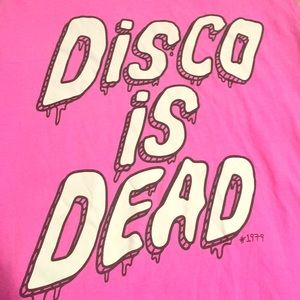 Disco is Dead tank top from Cotton On